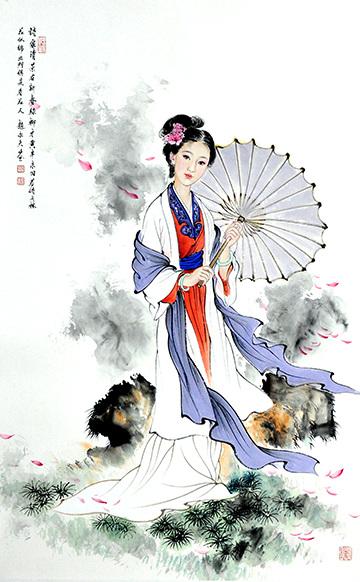 赵永夫人物系列之二
