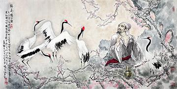 梅妻鹤子图